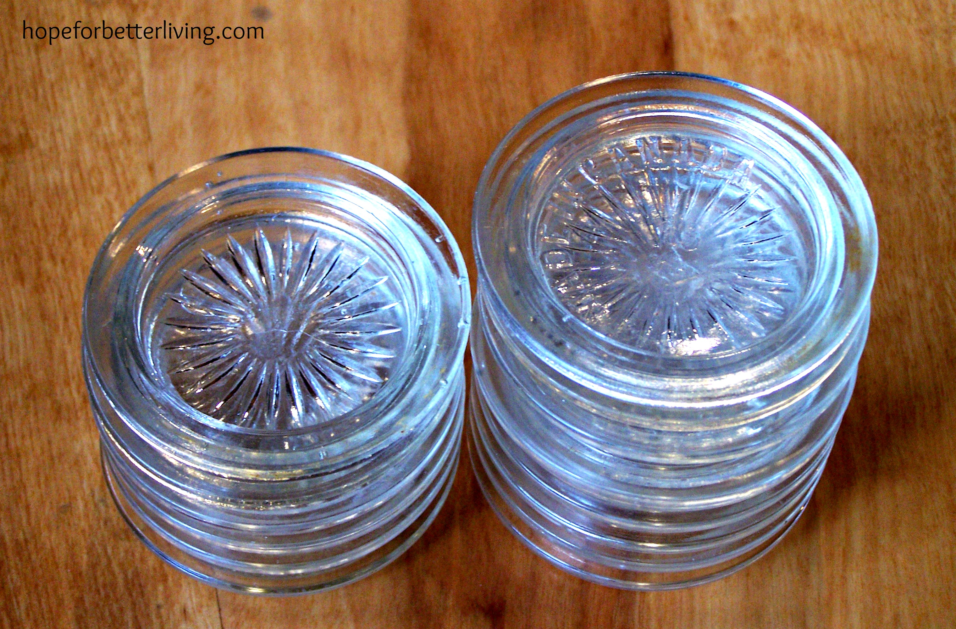 Glass Canning Lid Discovery: Part 2-How to Collect, Inspect and Prep