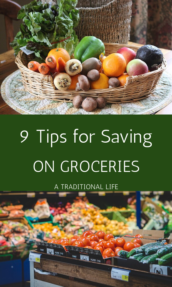 Create savings by cutting back on grocery costs!