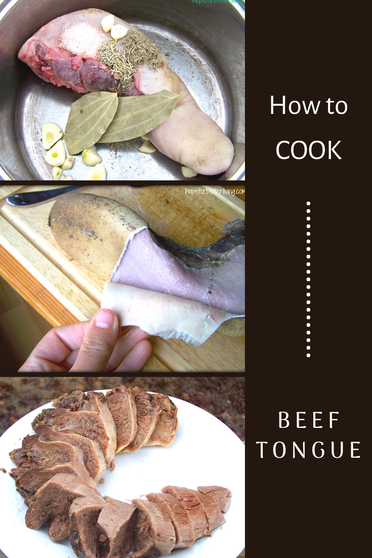 A Simple Beef Tongue Recipe