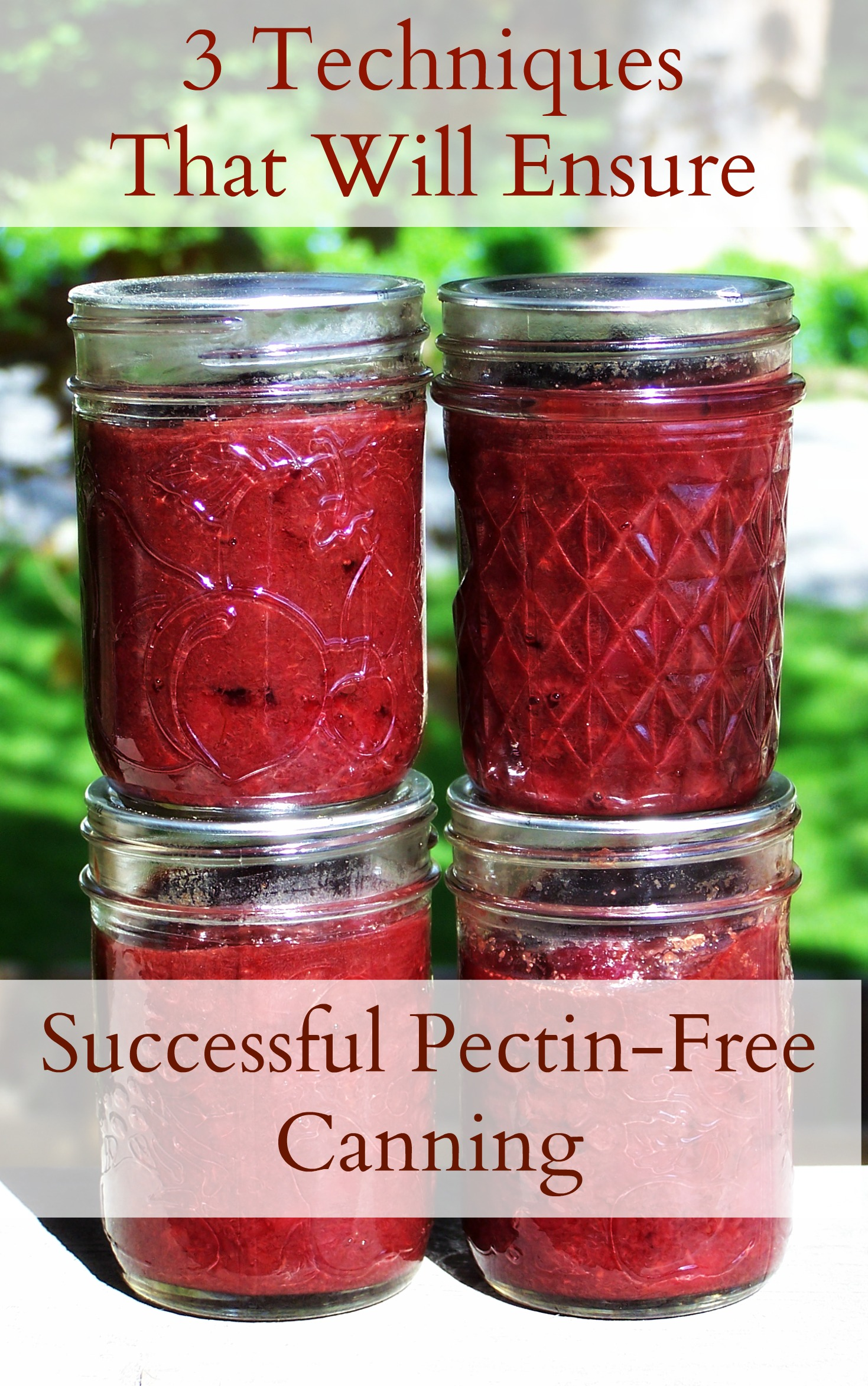 Are you struggling with pectin-free jams and preserves? Set yourself on the road to success with these 3 tricks!