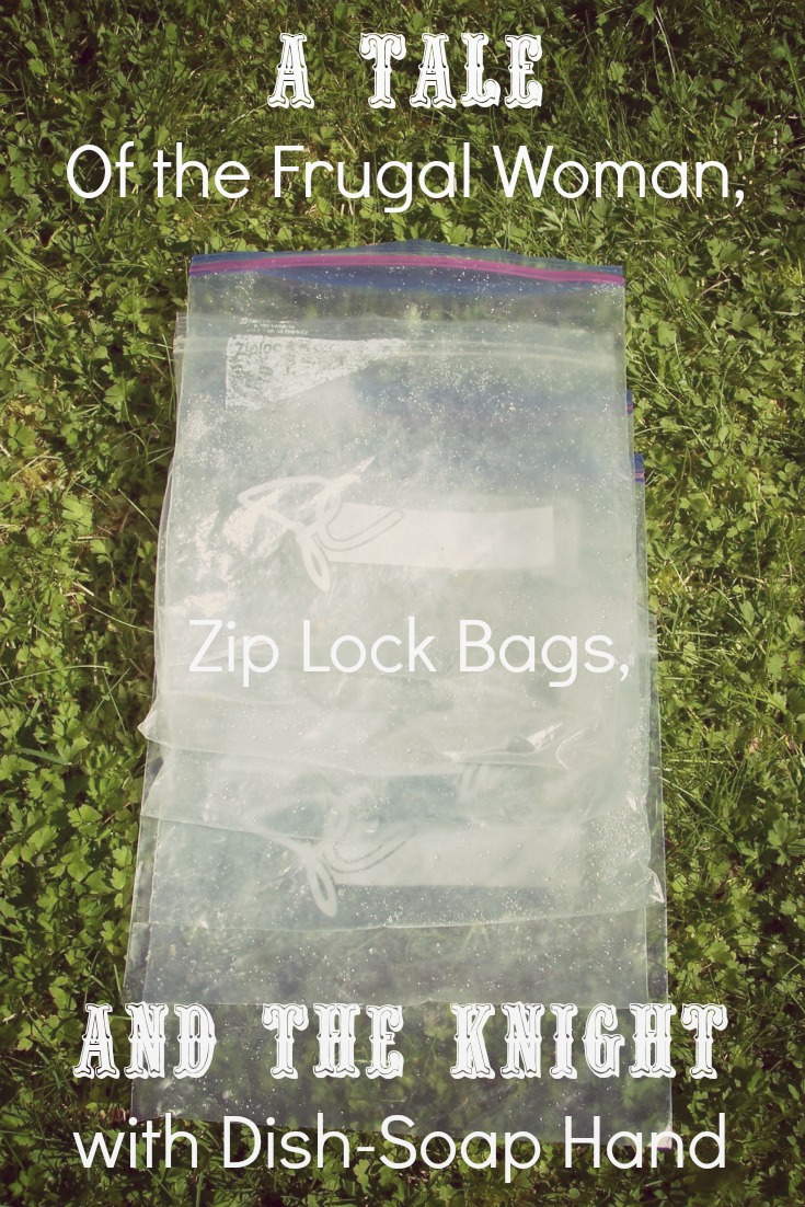 Are you frugal minded enough to wash zip lock bags? Have you struggled with their slowness to air dry? Come hear this housewife's story and her husband's remedy!