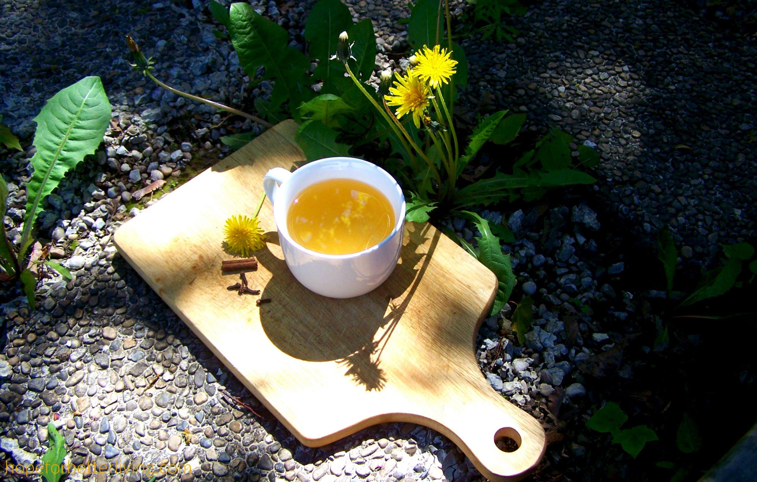 How to Make Spiced Dandelion Tea