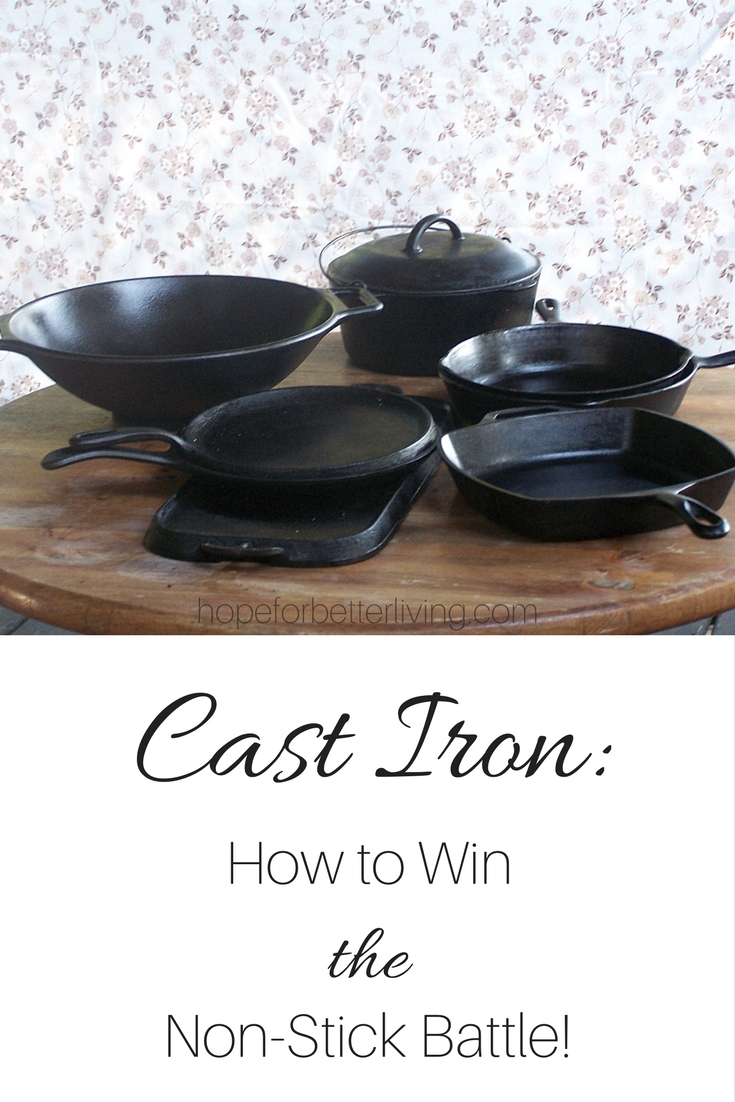 Cast iron messing with your mind? See these 9 tips for a non-sticking surface!
