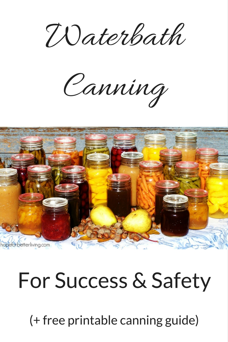 Interested in waterbath canning? Here's a step by step tutorial+guide!