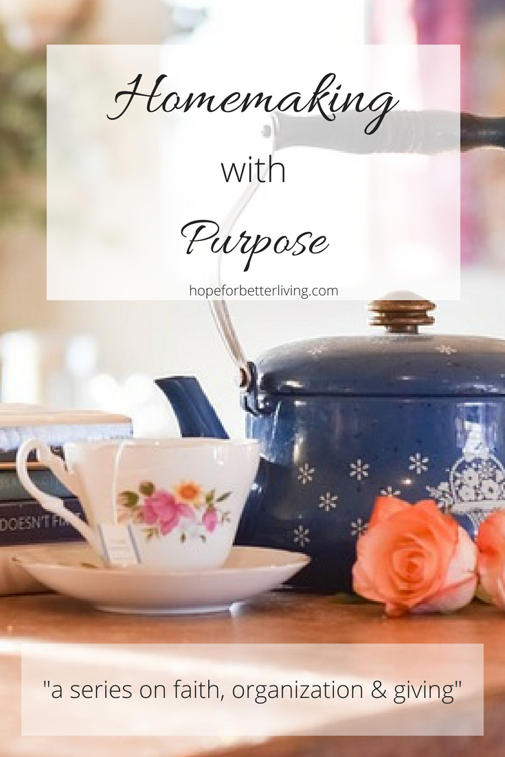 Are you lacking purpose as a homemaker? So was I! Read about my journey here!
