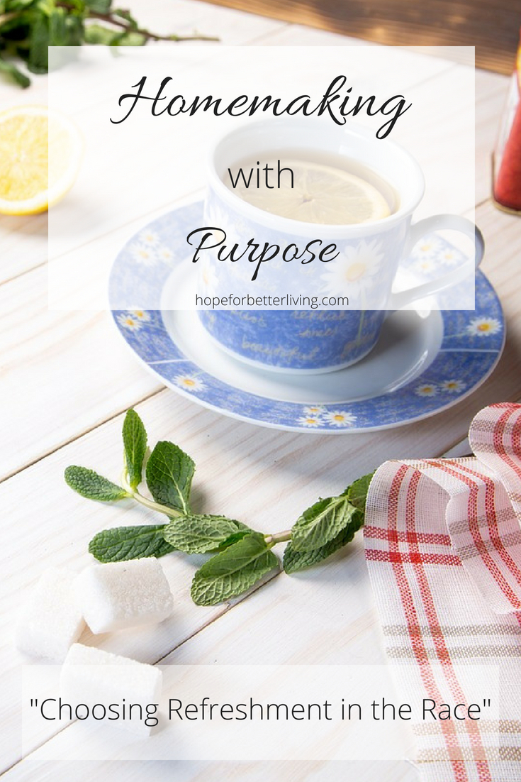 Learning to make time for yourself is an important aspect of stellar homemaking!