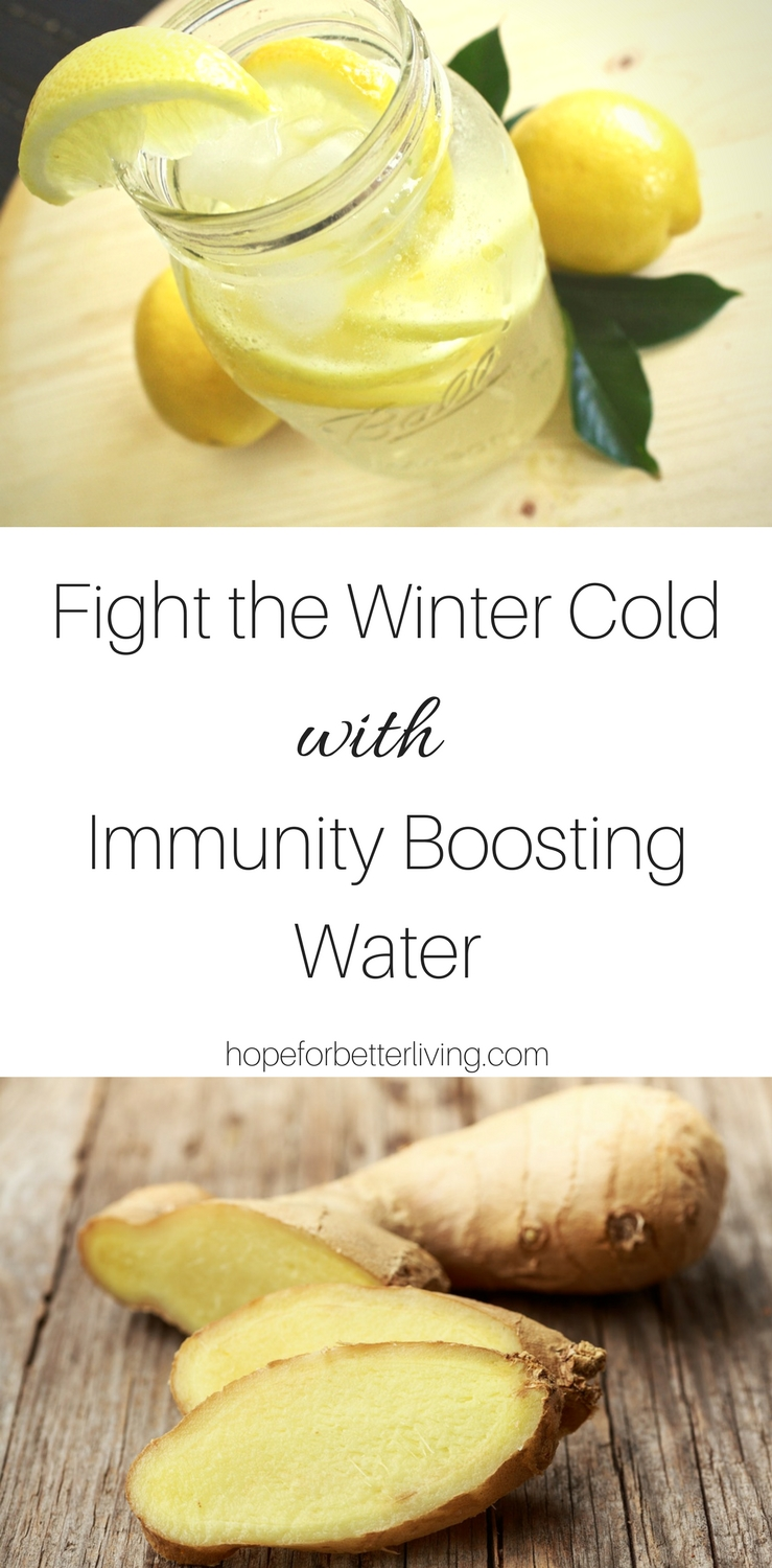 Add this recipe to your natural medicine cabinet to help fight the winter colds!