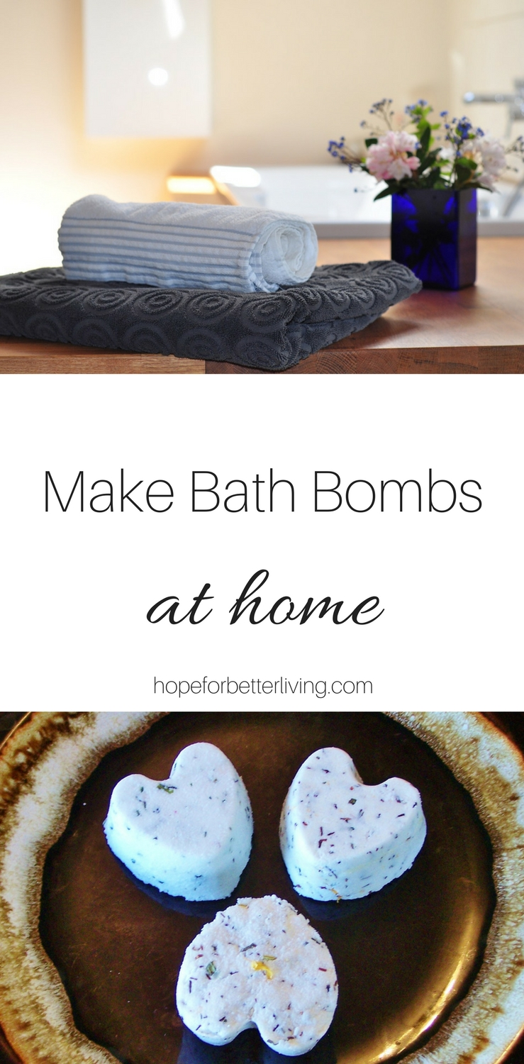 Learn how to make bath bombs at home with this simple tutorial!
