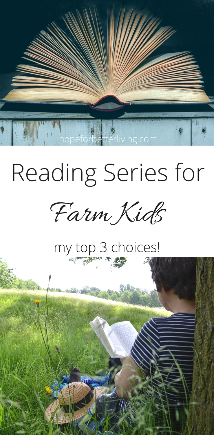 Start building a library of old fashioned reading series for farm kids! Here are my top 3 choices!