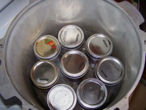 Canned meat must be processedin a pressure canner for food safety's sake!