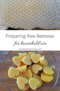 Learn how to collect, render and strain honeycomb for household use