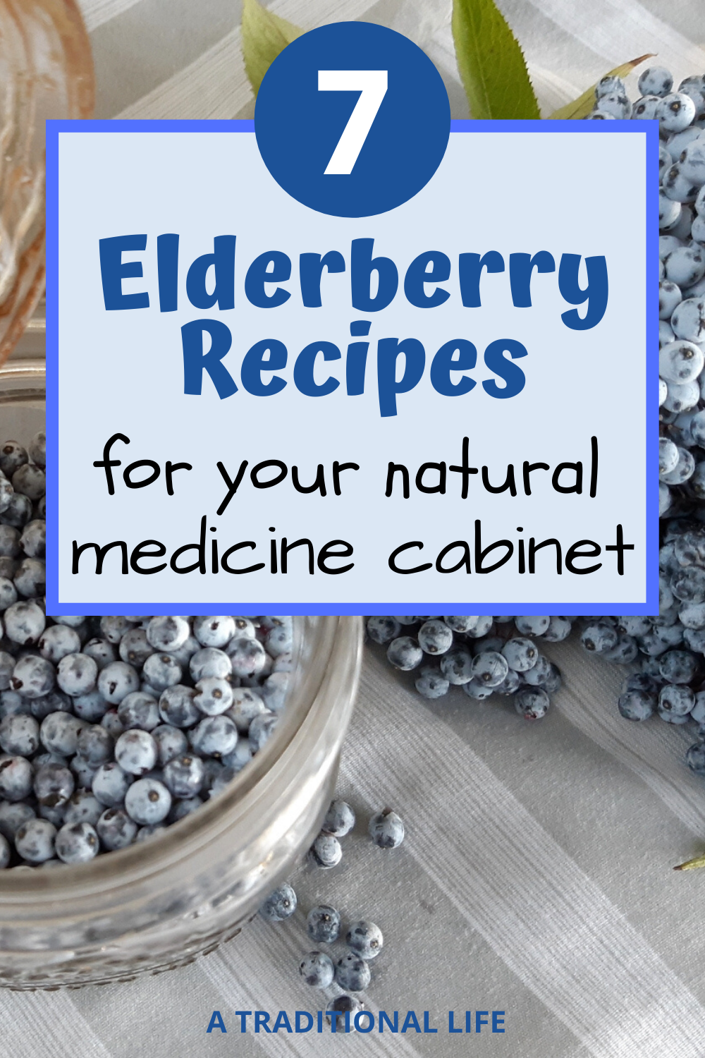 Want elderberry recipes? Get these 7 elderberry recipes for your natural medicine cabinet!