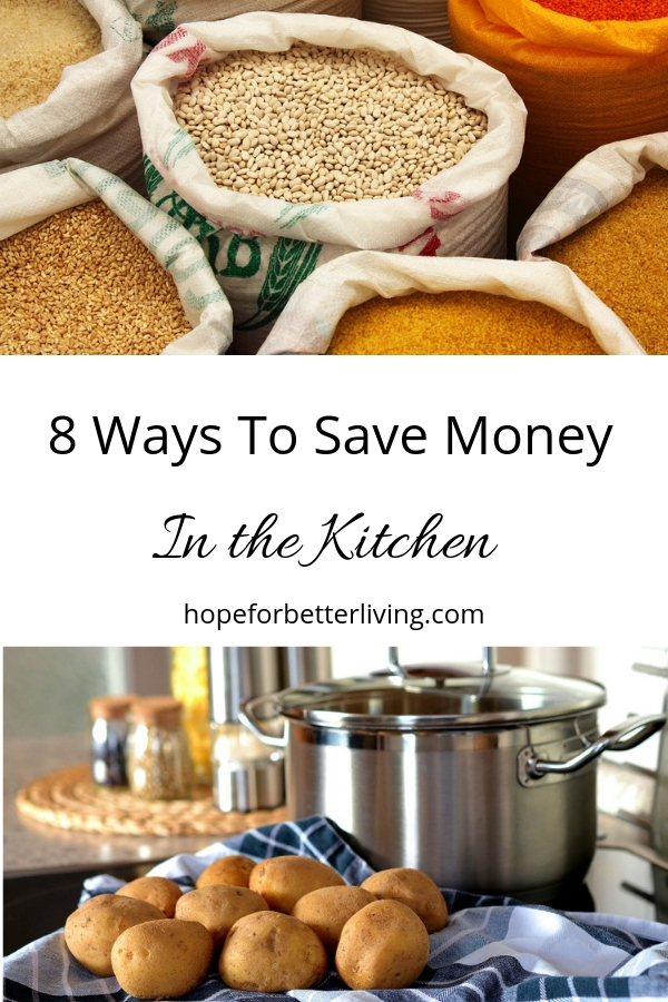 Learn to save money in the kitchen! #save money #frugal kitchen #frugal living tips