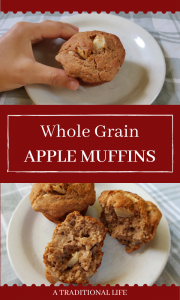 An easy, apple muffin recipe