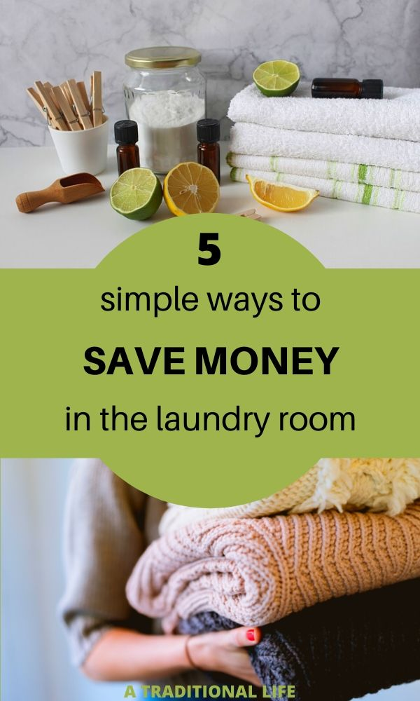 Learn to save money while doing laundry at home!