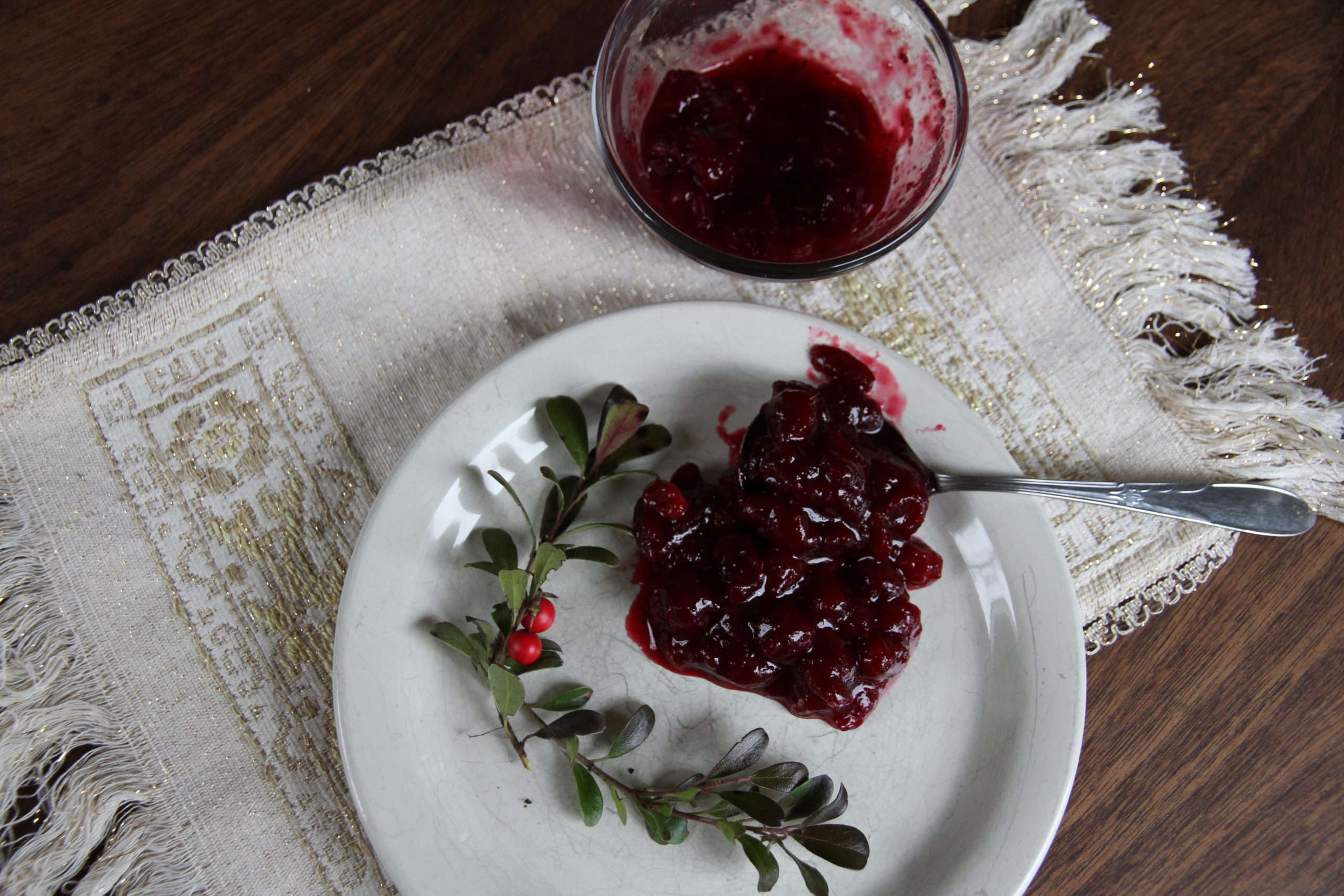 Recipe for Traditional Cranberry Sauce