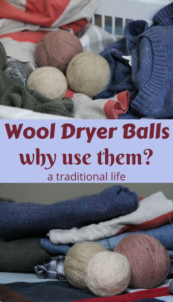 DIY wool dryers balls and how to use them with essential oils