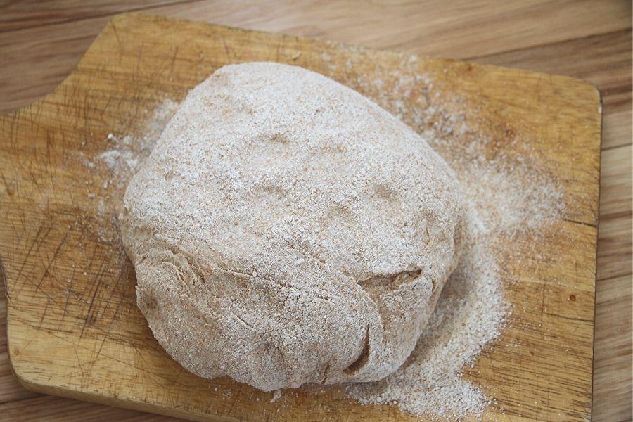 A Ball of Whole Wheat Dough