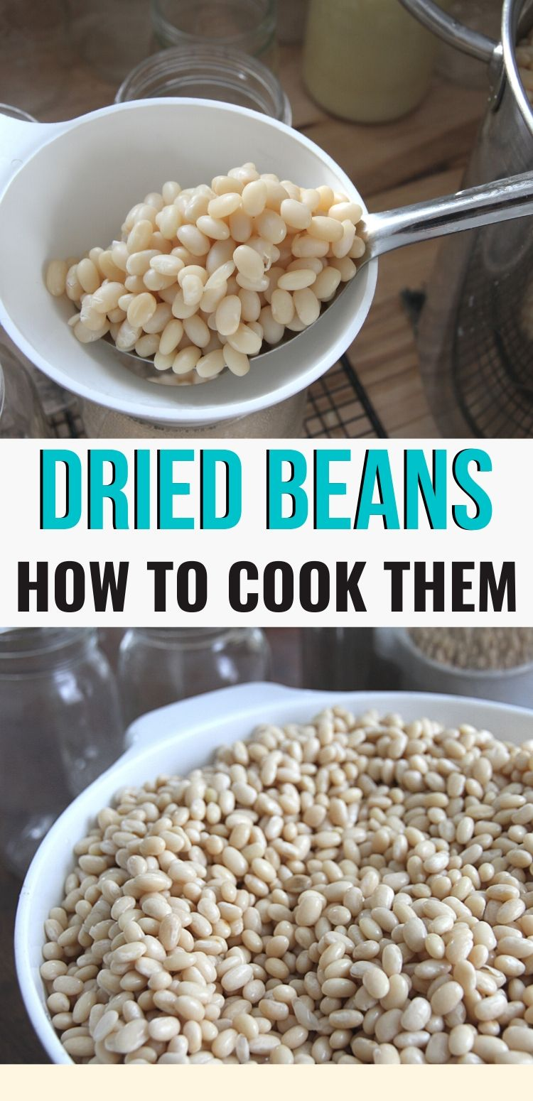 Learn to prepare dried beans for the dinner table