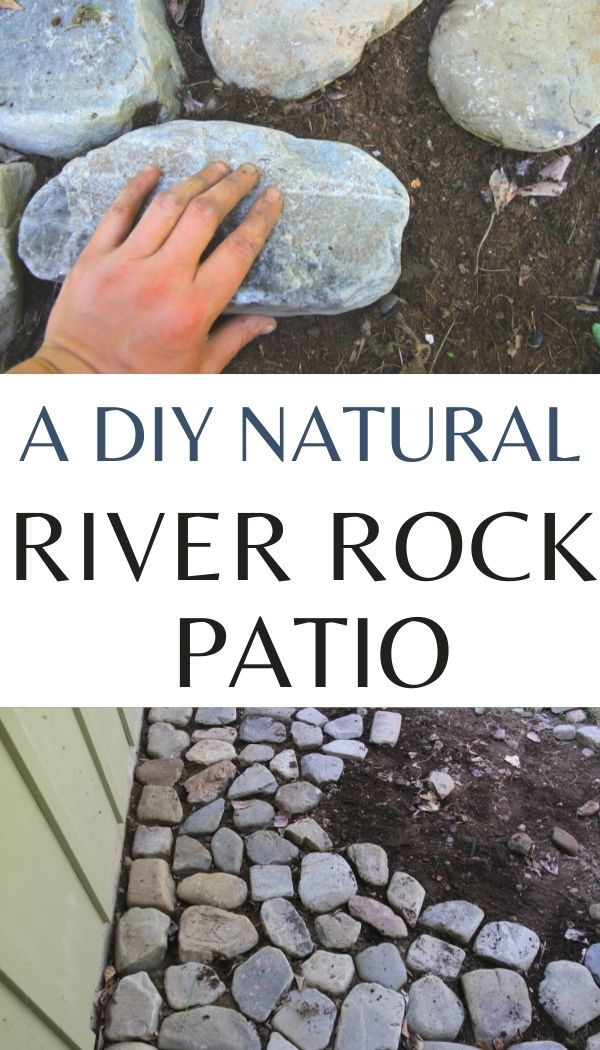 Learn to create an outdoor patio using round river rock to create a natural feel