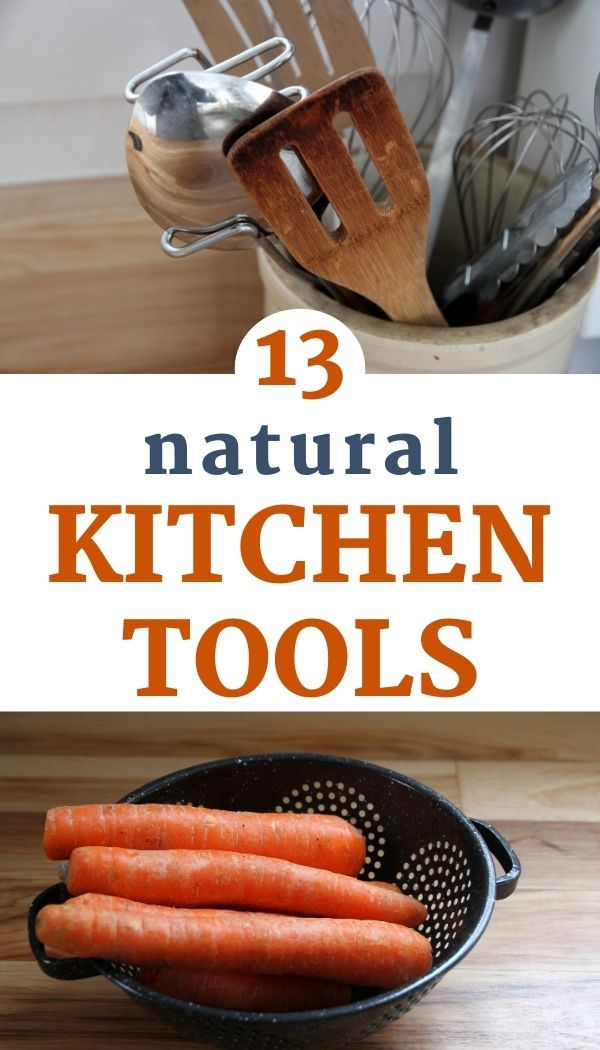 Natural Kitchen Tools for the Sustainable Kitchen